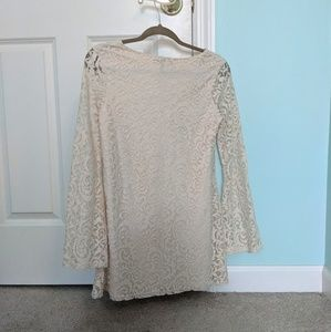 Forever 21 Dresses - Flared Sleeve Lace Dress